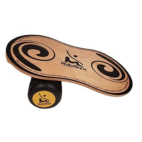 Rollerbone 1.0 Pro Set ? Balance Board & Balance Trainer für Fitnesstraining