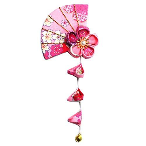 Fancy Pumpkin Pinces à cheveux Sakura fait à la main de style japonais Kimono/Hanfu/Yukata Accessoires pour cheveux pour Cosplay/Mariage-E06