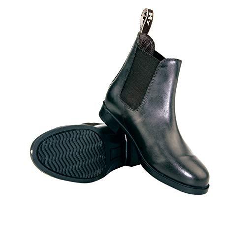Hyland Durham Boots d'équitation pour adulte–Noir–6