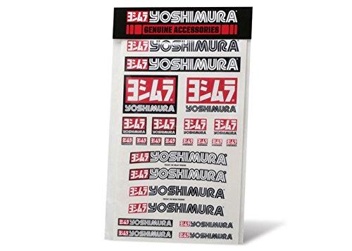 Yoshimura Aufkleber Sticker vorgestanzt Tafel 48,5x29,5cm Decal Sheet