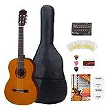 Yamaha Guitare de concert C40 avec kit d'accessoires et accordeur
