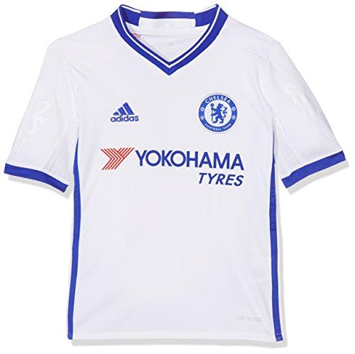 adidas 3 JSY Y Camiseta 3ª Equipación Chelsea FC 2015/16, Niños, Blanco/Azul, 13-14 años