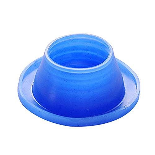Longyitrade - Tubo de desagüe desodorante de silicona, anillo de estanqueidad, para lavadora, piscina, desagüe, antiinsectos, tapón de sellado turquesa
