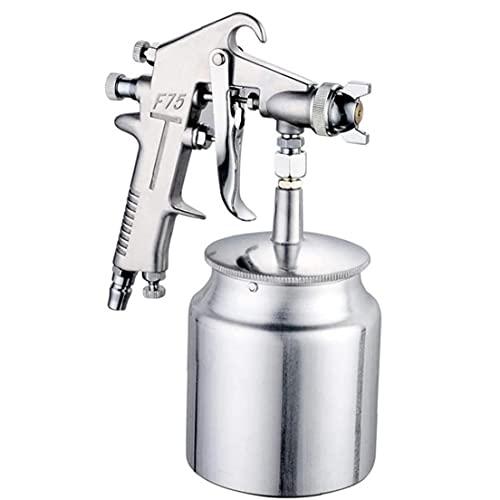 Rociador de aerosol de pulverización de la pintura del coche Rociador de aire de alimentación de la gravedad con la taza de aluminio de 600cc 1.5mm Boquilla para el desgaste de la pintura
