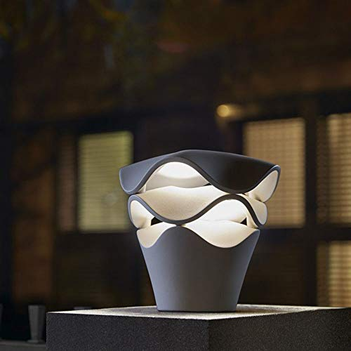 LED Wegeleuchten Außen Modern Landschaftslampe Wasserdicht IP54 Aluminium Designer Dekor Warmes Licht Außenleuchte für Garten Eingang Zaun Wege Hof Villa Park H 12.99 inch 6W