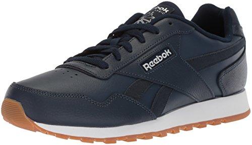 Reebok Men's Classic Harman Run Walking Shoe, Collegiate Navy/White, 12 M US