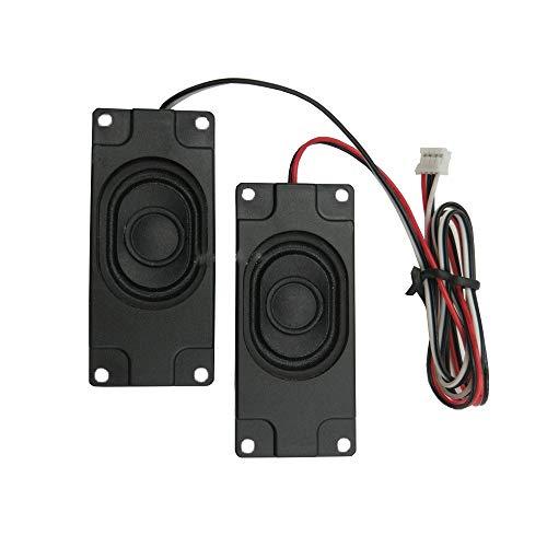 WNJ-TOOL, 2 STÜCKE 3070 LCD-TV-Lautsprecher 4OHM 3W Tragbare Audio-Lautsprecher-Einheit Passive Lautsprecher Werbemaschine Computerlautsprecher