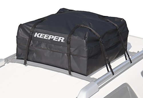 KEEPER 07202 Black Waterproof Rooftop Cargo Bag (11 Cubic Feet)