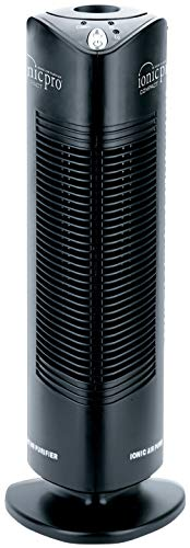 ENVION - Ionic Pro CA200, Compact Air Purifier Tower For Rooms Up to 200 Sq. Ft. (Black)