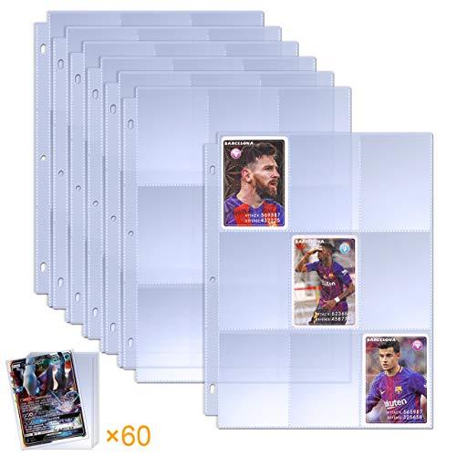 TAOPE 510 Pockets Sammelkarten Leere Sammelmappe, Neutral, Transparent Sammelkartenzubehör