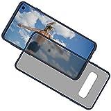 Goospery Peach Garden for Samsung Galaxy S10 (2019) Protective Slim Bumper Case (Navy Blue) S10-PEA-NVY