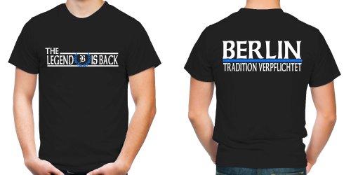 Berlin die Legende T-Shirt | Fussball | Ultras (XL)