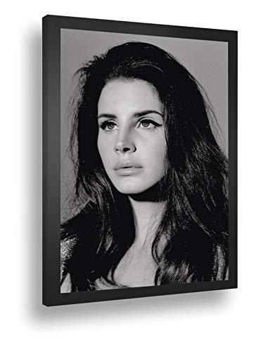 Quadro Decorativo Poster Modelo Lana Del Rey Cantora