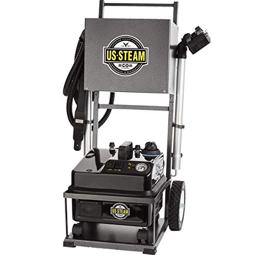 Fantastic Prices! US Steam US6100 Eagle Vapor Commercial Steam Cleaner with Cart