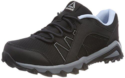 Reebok Damen Trailgrip 6.0 Walkingschuhe, Schwarz (Black/Asteroid Dust/Ash Grey/Fresh Blue), 37.5 EU