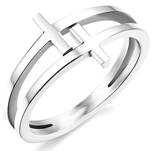 double cross ring - 9