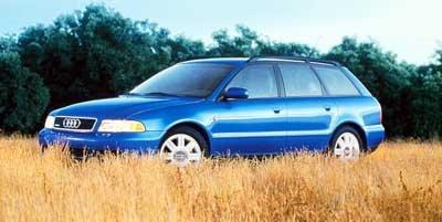 ... 1999 Audi A4 Quattro, 5-Door Wagon 1.8L Avant Automatic Transmission Quattro All ...