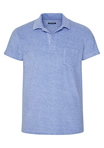 Chiemsee Herren Poloshirt, Robbia Blue, 2XL