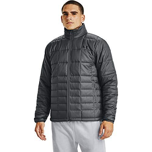 Under Armour Herren Armour Isolierte Jacke, Herren, Jacke, Armour Insulated Jacket, Pitch Gray (012)/Schwarz, Medium