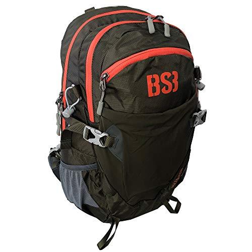 Mochila técnica 'iberia' - color caqui - mochila de tracking, senderismo, acampada, barranquismo