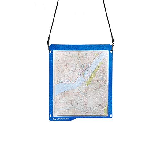 Lifeventure Étui étanche pour Tablette Unisexe Bleu Transparent Taille L, Mixte, Bleu, Transparent, Phone Case (190 x 124 mm)