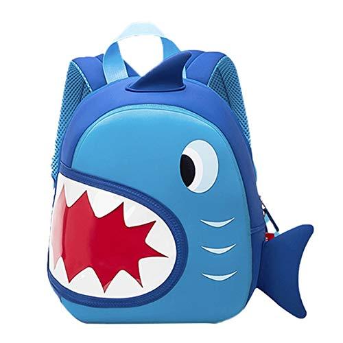 LUSTAR Cute Animal Toddler Backpack Kid Waterproof And Breathable School Bag Children Backpacks Shark