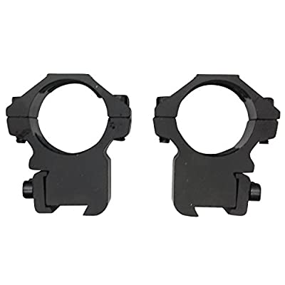 """SAS 30mm Dovetail 3/8"""" Scope Rings 3/4"""" Height - Pair from Southland Archery Supply"""