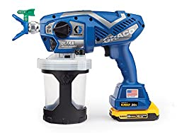 powerful Graco Ultra Cordless Airless 17M363 Cordless Hand Paint Spray