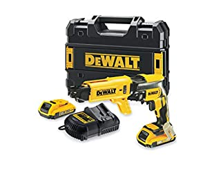 Dewalt DCF620D2-QW DCF620D2-QW-Atornillador Panel Yeso sin escobillas XR 18V con 2 baterías Li-Ion 2,0Ah con maletín TSTAK, 18 W, 18 V (B00WB1P62I) | Amazon price tracker / tracking, Amazon price history charts, Amazon price watches, Amazon price drop alerts
