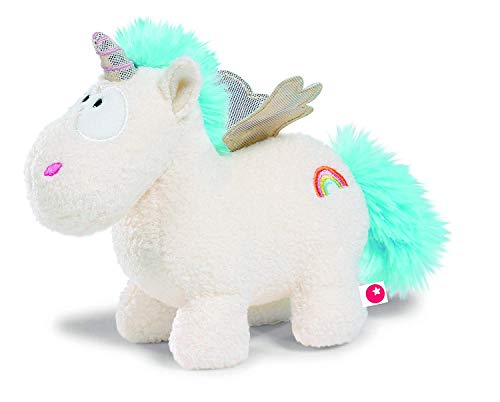 NICI - Theodor & Friends, Unicornio Rainbow Flair, Peluche, 13 cm (40099.0)