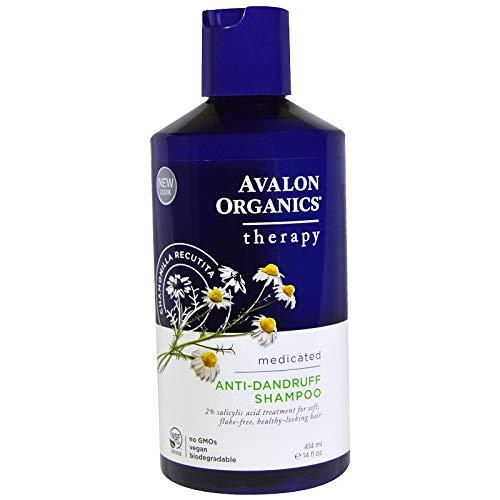 2 Packs of Avalon Organics Anti Dandruff Shampoo