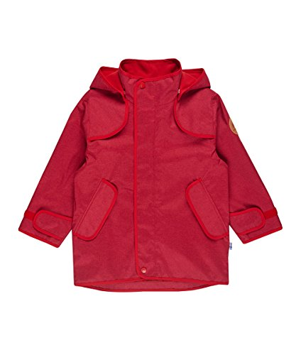 Finkid Tuulis Ice persian red Kinder Zip In Outdoor Parka