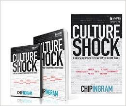 Mega SET DVD Chip Ingram Culture Shock: A Biblical Response to Today's Most Divisive Issues with Bonus Book (Hardcover), Culture Shock Study Guide (Paperback) and Culture Shock DVD Set [Hardcover]