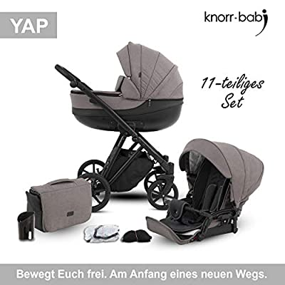 Knorr-baby 2420-03 YAP - Carrito convertible, color marrón