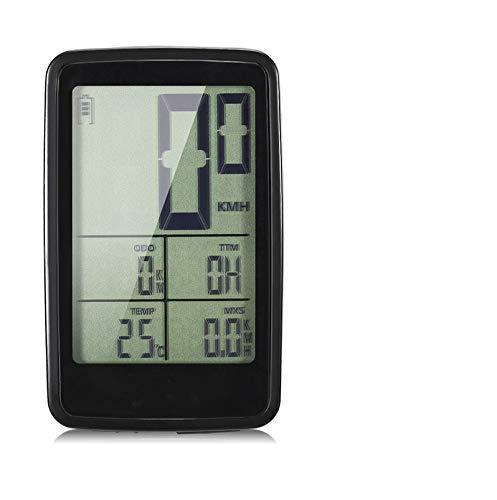 LQUIDE Rechargeable sans Fil vélo vélo Ordinateur vélo Compteur de Vitesse Compteur kilométrique équitation Accessoires Outil