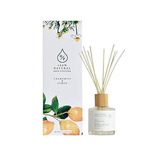 HPリードディフューザー 100%天然香料 ルームフレグランス (カモミール&レモン)