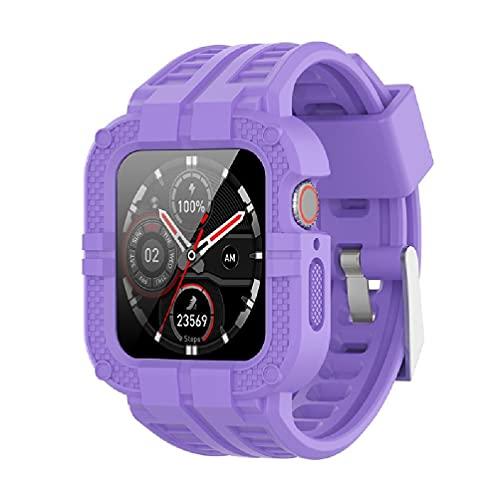 Compatible con reloj inteligente Watch1/2/4/6/3/5-SE, correa ajustable, correa de una pieza, resistente al sudor, pulseras impermeables y personalizadas