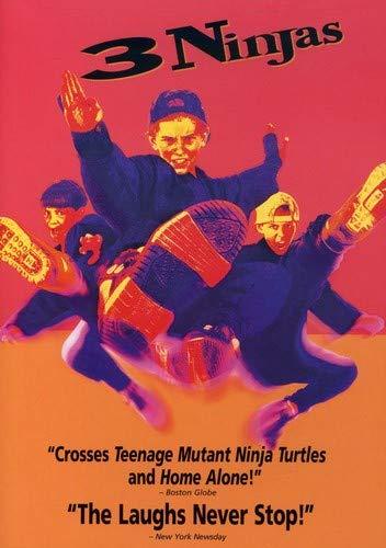 3 Ninjas Reino Unido DVD