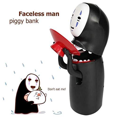 Spirited Automatische No Face-münzen-Bank-Geist-Geld-Kasten Musikalischen Elektronischen Karikatur-Mann Abbildung Piggy Bank