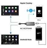 ATOTO AC-WCPAA48 Wireless CarPlay y Android Auto con Cable -...