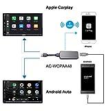 Adattatore ricevitore smartphone ATOTO AC-WCPAA48 - compatibile con CarPlay wireless e Android Auto cablato - Funziona perfettamente con il sistema audio/video Android Car per ATOTO