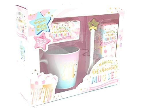 Unicornio Chocolate Caliente Taza Juego Navidad Paquete de Regalo