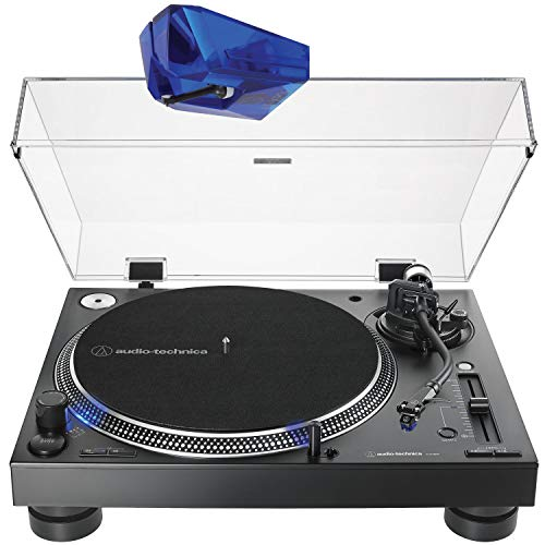 Lowest Prices! Audio Technica AT-LP140XP Direct-Drive Professional DJ Turntable - Black with ATN-XP3...