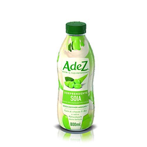AdeS - Soja Maravillosa con vitaminas D y B12., Bebida Vegetal, 800 ml, Botella de plástico