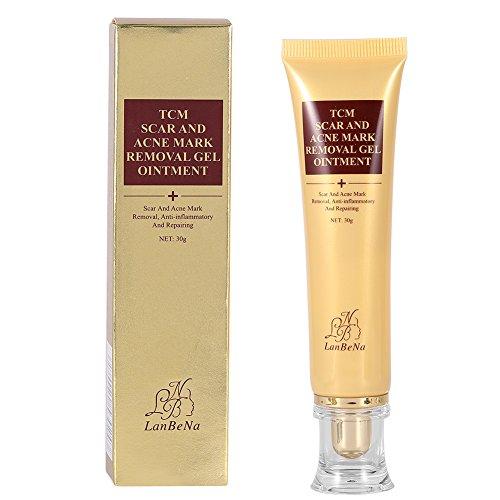 Crème de Suppression des Cicatrices Acné Mark Pimple Remover Traitement des Imperfections Crème Pommade Balance Tone Skin Correcteur 30g
