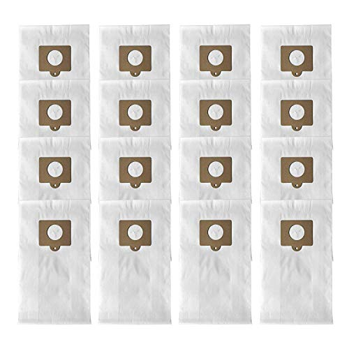 ATXKXE 16-Pack Micro Filtration Premium Canister Vacuum Bags Fit Kenmore Style C Q 5055 50557 50558 50104, Panasonic C-5 C-18