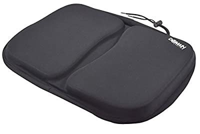 Domain Cycling Extra Large Gel Exercise Bike Seat Cushion Cover, Stationary Recumbent Bicycle Rowing Machine