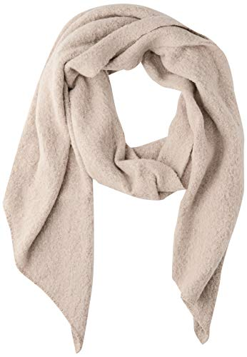 PIECES Damen PCPYRON LONG SCARF NOOS BC Schal, Detail:W MOONBEAM/Ginger Snap, ONE SIZE