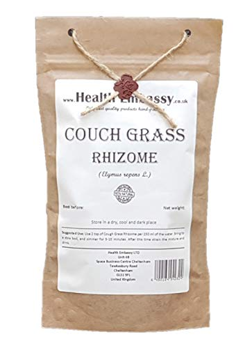 Couch Grass Rhizome (Elymus repens- Graminis Rhizoma) - Health Embassy - 100% Natural (100g)