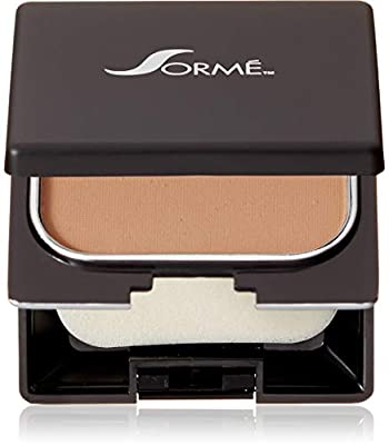 Sormé Cosmetics Believable Finish Wet/Dry Powder Foundation, Honey Dusk